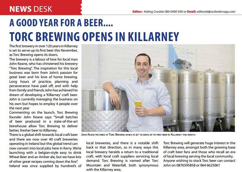 John Keane, Master Brewer at Torc Brewing, Killarney, County Kerry