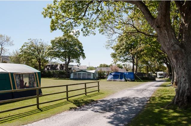Llys Derwen Caravan & Camping Park, Caernarfon, Snowdonia, Wales
